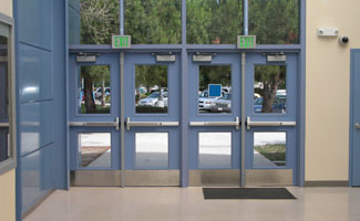 commercial exterior double doors. Commercial Exterior Double Doors