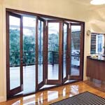 Eclipse system bifold doors