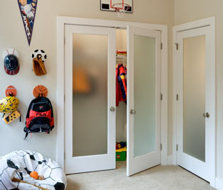 French doors condoor systems inc for Interior french doors opaque glass