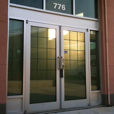 Storefront doors Vancouver