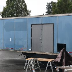 Metal Trailer Door