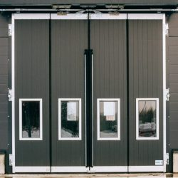 Big Industrial Folding Door