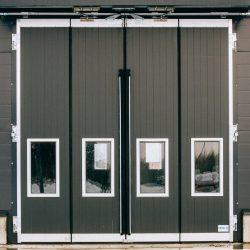 Big Industrial Folding Door