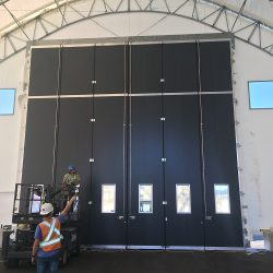 Large Industrial Door Installation
