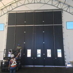 Large Industrial Door Installation